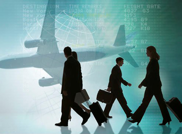 viagens negócios