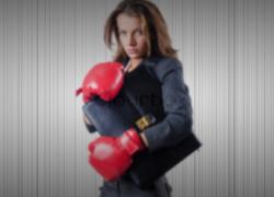 Secretária combina com MMA?