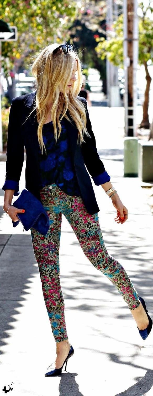 calça florida